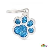 My Family - Shine & Reflective Paw Glitter Blue (GL02B)