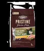Pristine 無穀物 全貓糧 放養雞 火雞 配方 3lb