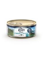 ZiwiPeak - 罐裝料理 (貓用) - 鯖魚 羊肉配方 85g - 24罐優惠(狗會優惠不適用)