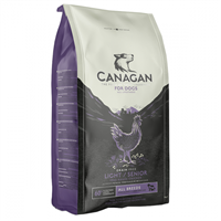 Canagan Light/Senior For Dogs 無穀物減肥/老犬糧 6Kg (紫色)