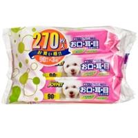 Joypet 犬貓臉部專用濕紙巾 90片裝 三包套裝