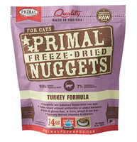 Primal (原始)-Feline Freeze-Dried Formula (Turkey) 脫水糧 貓配方 - 火雞 14oz