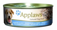 Applaws Dog 全天然 狗罐頭 - 海魚 海帶 156g