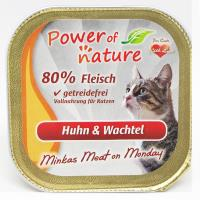 Power of Nature 星期一慕絲 Minkas Meat on Monday (Huhn & Wachtel) 雞肉鵪鶉 100g (限定增量裝) (紅色)