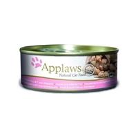 Applaws 全天然 156g 貓罐頭 - 吞拿魚+蝦 (大)