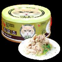 Petsgoal x 忌廉哥 貓罐頭 -  吞拿魚 紫菜 70g