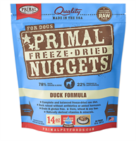 Primal (原始)-Canine Freeze-Dried Formula (Duck)犬用低溫脫水糧- 鴨配方 14oz