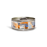 Monge 野生海魚系列 - 吞拿魚+三文魚 (橙) 80g