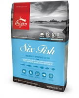 Orijen 無穀物六種魚肉 ( 貓 咪 ) 專用配方 5.4kg