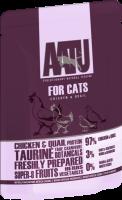 AATU 貓濕糧系列 - 雞、鵪鶉 85g