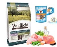 凡購買 Wildfield Cat Country 3包 組合優惠, 即送3包Bogadent潔齒貓小食 (價值 $129)