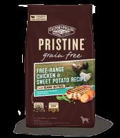 Pristine 無穀物 全犬糧 放養雞 甜薯 凍乾生肉塊 配方 10lb