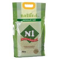 N1 Naturel 栗米豆腐貓砂 (綠茶) 17.5L