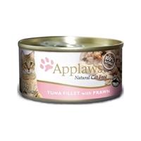 Applaws 全天然 貓罐頭 - 吞拿魚+蝦 70g (細)