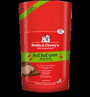 Stella & Chewy's - Frozen Duck Duck Goose 犬用冷凍鮮肉 - 鴨朋鵝友 (鴨肉及鵝肉配方) 6lb  (4包優惠裝)